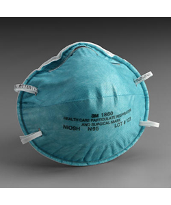 3M™ Health Care Particulate Respirator and Surgical Mask - Box of 20