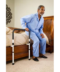 Carex® Bed Support Rail - shown being used