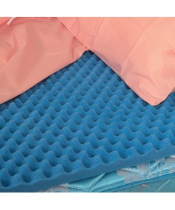 Mabis DMI Hospital Bed Size Convoluted Bed Pad 33 x 72 x 3 in.