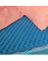 Mabis DMI Full Bed Size Convoluted Bed Pad 50 x 72 x 2 in.