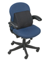 Mabis DMI Memory Foam Lumbar Cushion - In Use