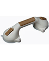 "HealthSmart™ Suction Cup Grab Bar with BactiX™ - 12"" model shown with sand finish"