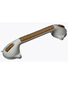 "HealthSmart™ Suction Cup Grab Bar with BactiX™ - 16"" model shown with sand finish"