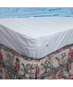 Mabis DMI Protective Mattress Cover for Home Beds Zippered - Twin Size