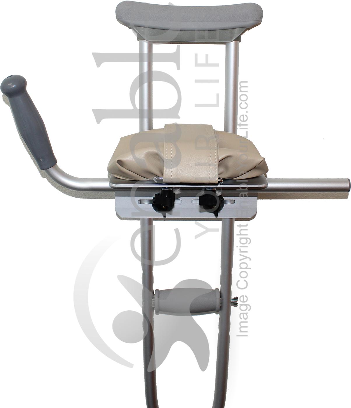 Padded Crutch Platform Attachment Guardian