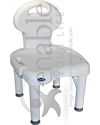 Invacare® I-Fit™ Shower Chair with Back and 400 lb Capacity