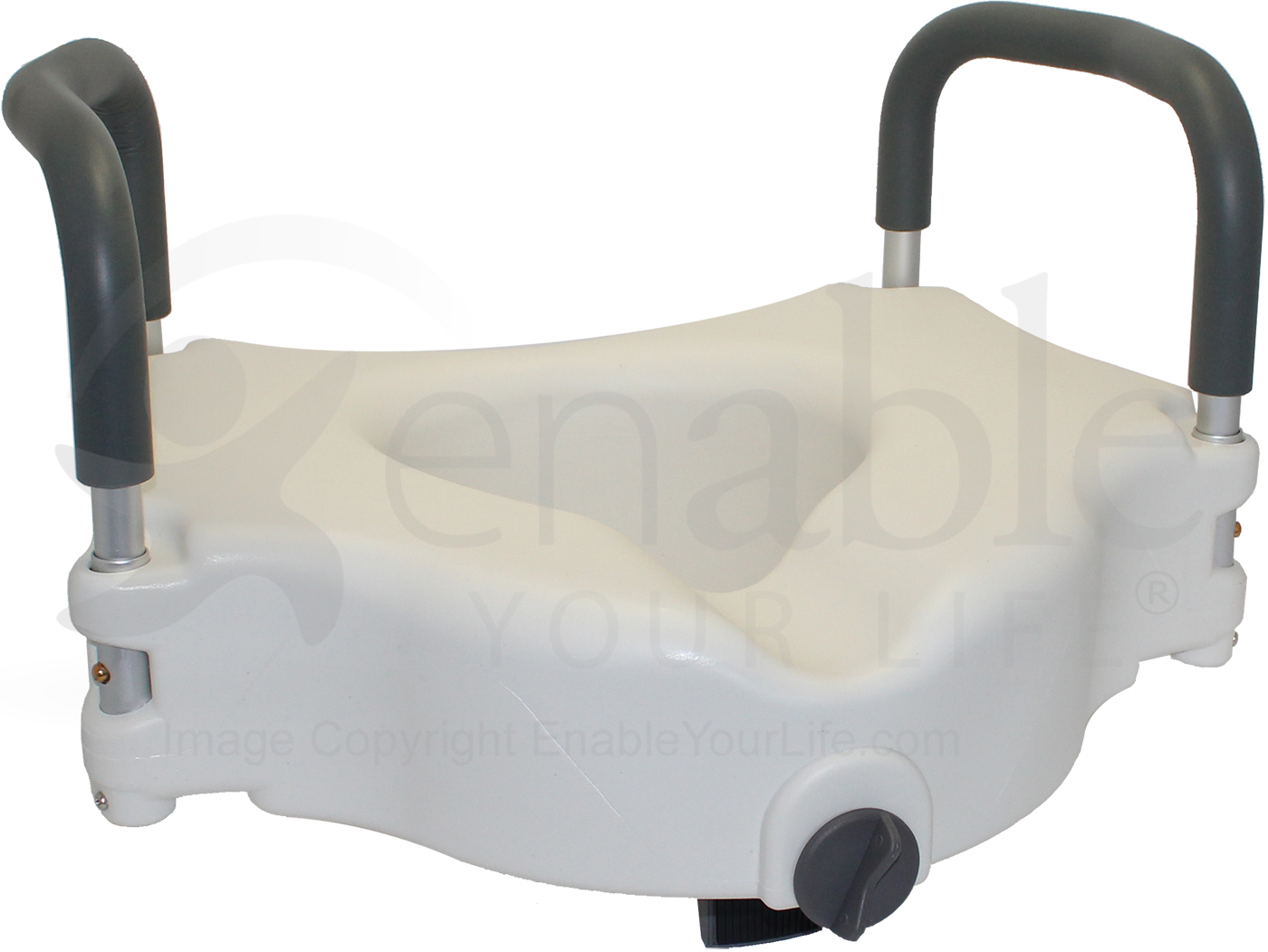 Invacare Probasics 174 Clamp On Raised Toilet Seat With Arms