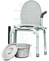 Invacare Probasics® Drop-Arm Commode with 300 lb Capacity