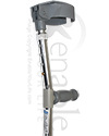Invacare® Adult Forearm Crutch - close-up view of the handle and cuff