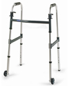 Invacare Dual-Release Walker with 3 in. Fixed Wheels