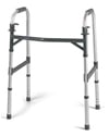Invacare Heavy Duty Dual Release Adult Walker with 500 lb Capacity