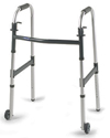 Invacare Dual-Release Junior Walker with 3 in. Fixed Wheels