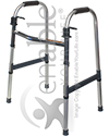 Invacare I-Class™ Adult Paddle Walker - Angled view shown