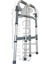 Invacare I-Class™ Adult Paddle Walker - Folded view shown