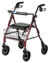 Invacare Four Wheel Rollator