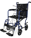 ProBasics® Lightweight Aluminum Transport Wheelchair
