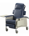 Invacare® 3-Position Clinical Recliner - Shown in blueridge
