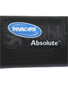 Invacare® Absolute™ Wheelchair Cushion - Close of the logo and material of the cover