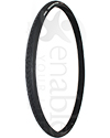 24 x 1in. (25-540) MBL Trailblazer Wheelchair Tire with Puncture Guard - Angled view shown