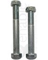 "5/8"" Fine Thread Wheelchair Axle with Nut"