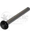 Top Dawg 1/2 in. Big Button Quick Release Wheelchair Axle - close up view of the button