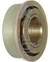 1/2 x 1 1/16 in. Flanged Wheelchair or Scooter Bearing - Angled view shown