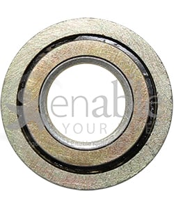 1/2 x 1 1/16 in. Flanged Wheelchair or Scooter Bearing - Front view shown