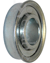 5/8 x 1 3/8 in. 58138 Flanged Wheelchair or Scooter Bearing - Angled view shown