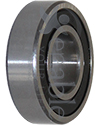 15 mm x 32 mm 6002RS Precision Wheelchair or Scooter Bearing - Angled view shown