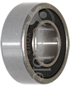 7/16 x 29/32 in. 1607RS Precision Wheelchair or Scooter Bearing - Angled view shown