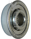 5/16 x 29/32 in. Flanged Wheelchair or Scooter Bearing - Angled view shown