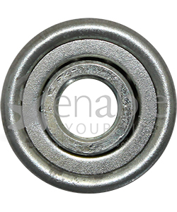 5/16 x 29/32 in. Flanged Wheelchair or Scooter Bearing - Front view shown