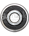 7/16 x 1 3/8 in. 1620RS Precision Wheelchair or Scooter Bearing - front view shown
