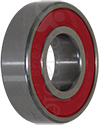 1/2 x 1 1/8 in. R8RS Ceramic Precision Wheelchair or Scooter Bearing - Angled view shown