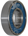 1/2 x 1 1/8 in. R8RS Precision Wheelchair or Scooter Bearing - Angled view shown