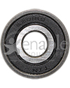 7/16 in. x 32 mm 6201RS Precision Wheelchair or Scooter Bearing - Front view shown