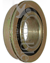 5/8 x 1 1/4 in. Flanged Wheelchair or Scooter Bearing - Angled view shown