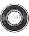 5/8 x 1 3/8 in. 99502H Precision Wheelchair or Scooter Bearing - Front view shown