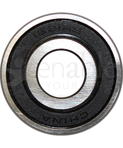 1/2 x 1 3/8 in. 1621RS Precision Wheelchair or Scooter Bearing - Front view shown