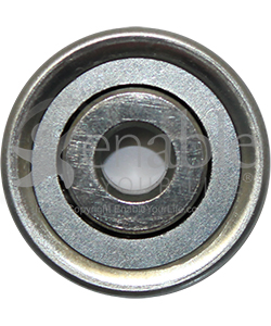 5/16 x 1 1/8 in. 516118 Flanged Wheelchair or Scooter Bearing - Front view shown
