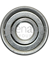 7/16 x 1 1/8 in. 716118 Flanged Wheelchair or Scooter Bearing - Front view shown