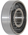 1/2 in. x 32 mm 6201RS1/2 Precision Wheelchair or Scooter Bearing - Angled view shown view shown