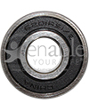 1/2 in. x 32 mm 6201RS1/2 Precision Wheelchair or Scooter Bearing - Front view shown