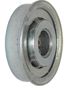 7/16 x 1 3/8 in. 716138 Flanged Wheelchair or Scooter Bearing - Angled view shown