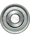 7/16 x 1 3/8 in. 716138 Flanged Wheelchair or Scooter Bearing - Front view shown