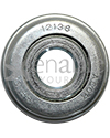 1/2 x 1 3/8 in. 12138 Flanged Wheelchair or Scooter Bearing - back view shown