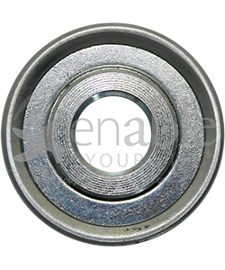 1/2 x 1 3/8 in. 12138 Flanged Wheelchair or Scooter Bearing - Front view shown