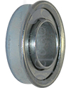 3/4 x 1 3/8 in. 34138 Flanged Wheelchair or Scooter Bearing - Angled view shown