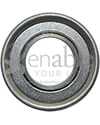 3/4 x 1 3/8 in. 34138 Flanged Wheelchair or Scooter Bearing - Front view shown