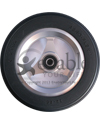 6 x 1 1/4 in. Aluminum Wheelchair Caster Wheel